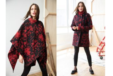 Damart and Christian Lacroix poncho and coat
