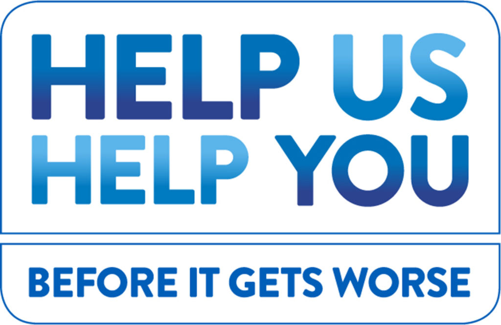Help Us Help You NHS logo