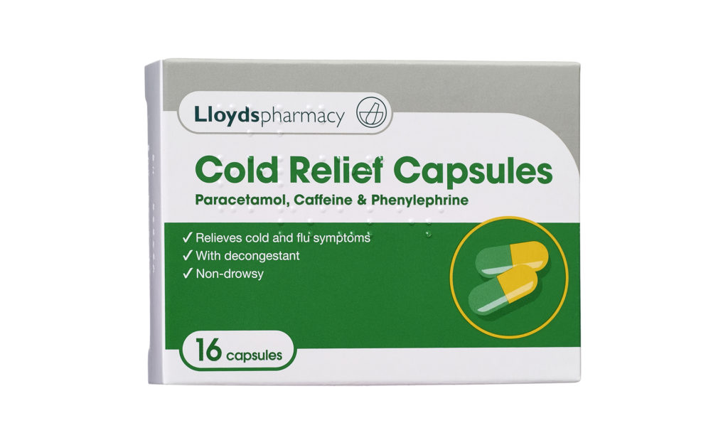 Lloyds Cold Relief Capsules