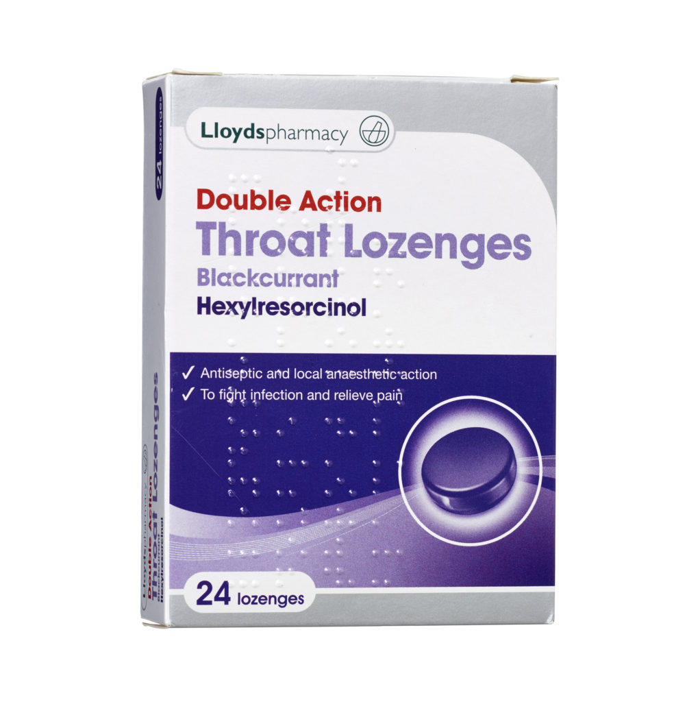 Lloyds Double Action Throat Lozenges
