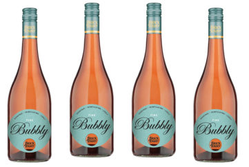 4 bottles oof Black Tower Pink Bubbly