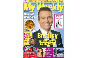 Cover of My Weekly latest issue January 28, 2020 with Bradley Walsh and one pot meals
