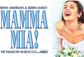 Mamma Mia Musical poster