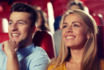 A couple at the theatre Pic: Shutterstock