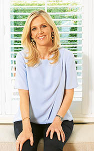 Author, Sinead Moriarty pictured in her South Dublin home.