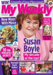 Susan Boyle mag cover