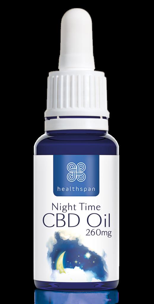 Healthspan CBD Oil Night time