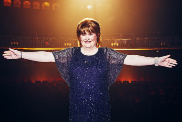 Singing superstar Susan Boyle