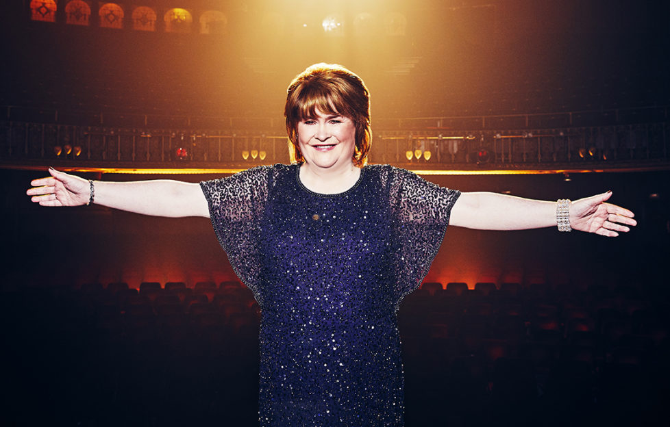 Singing superstar Susan Boyle