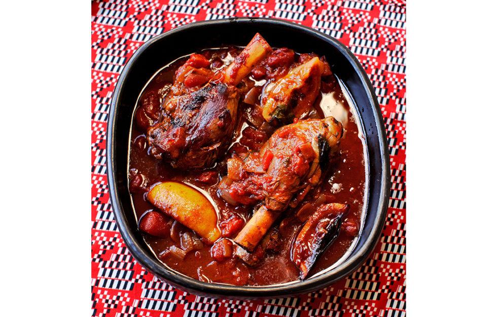 Lamb shanks recipe