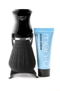 men-u shave brush