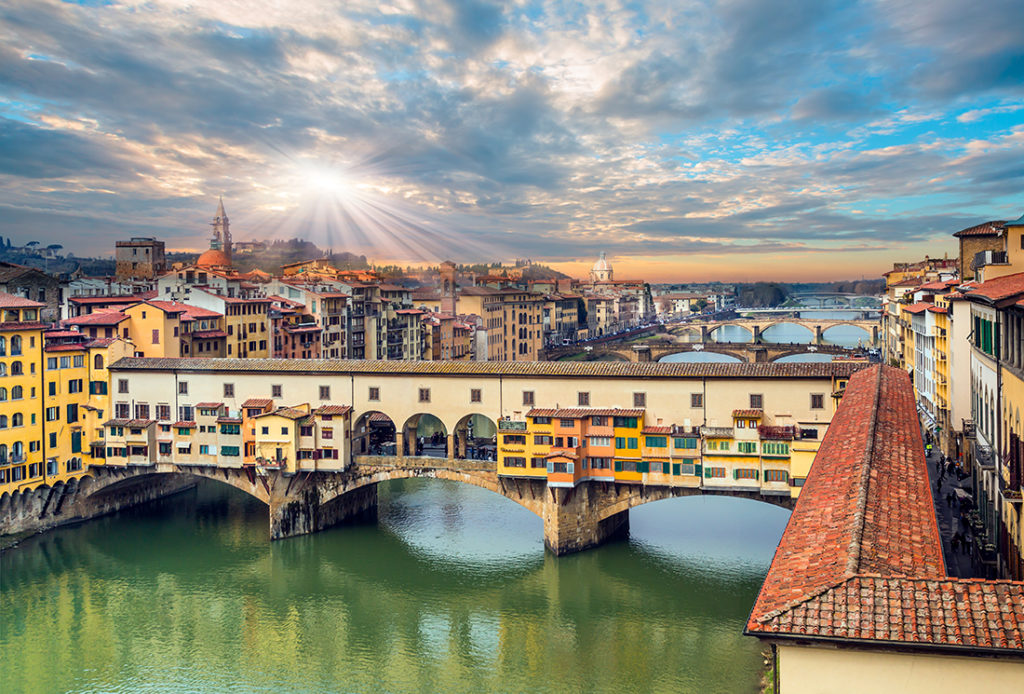 Ponte Vecchio over Arno river in Florence, Italy Pic: Shutterstock