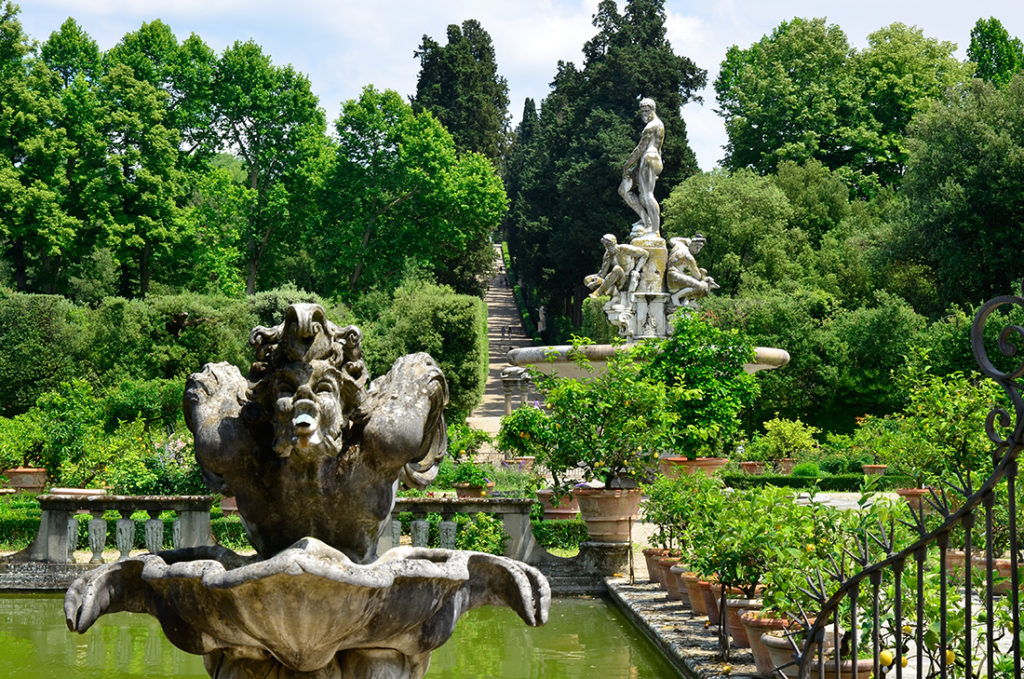 Boboli Gardens, Florence Pic: Shutterstock
