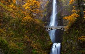 Multnomah Falls as below