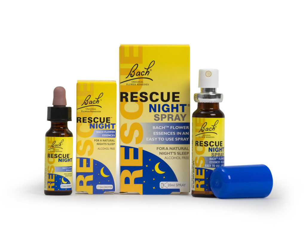 Selection of Bach Rescue Night products