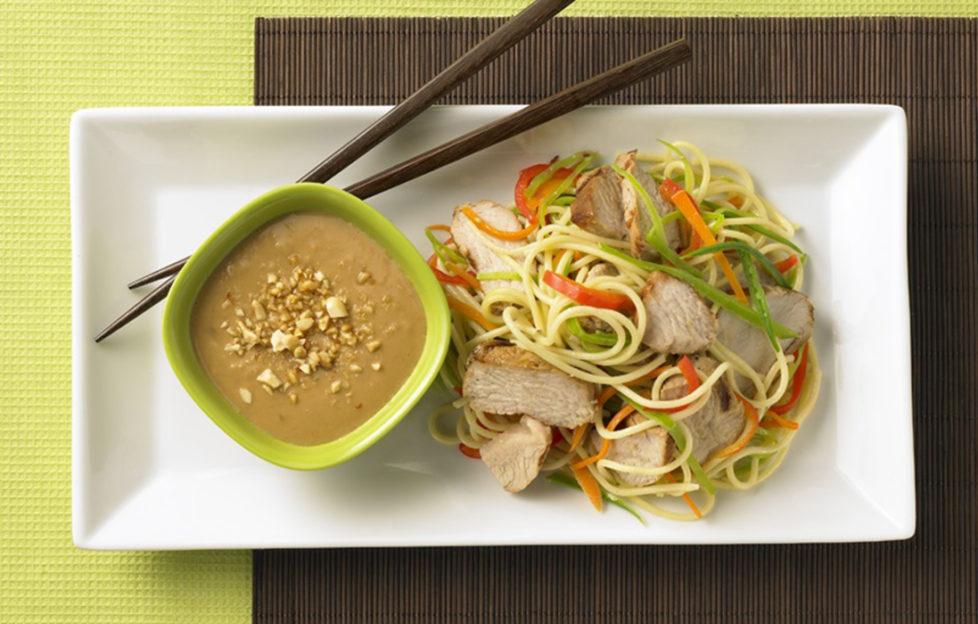 SKIPPY Asian noodle salad