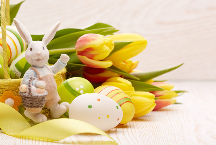 Easter backdrop Pic: Shutterstock