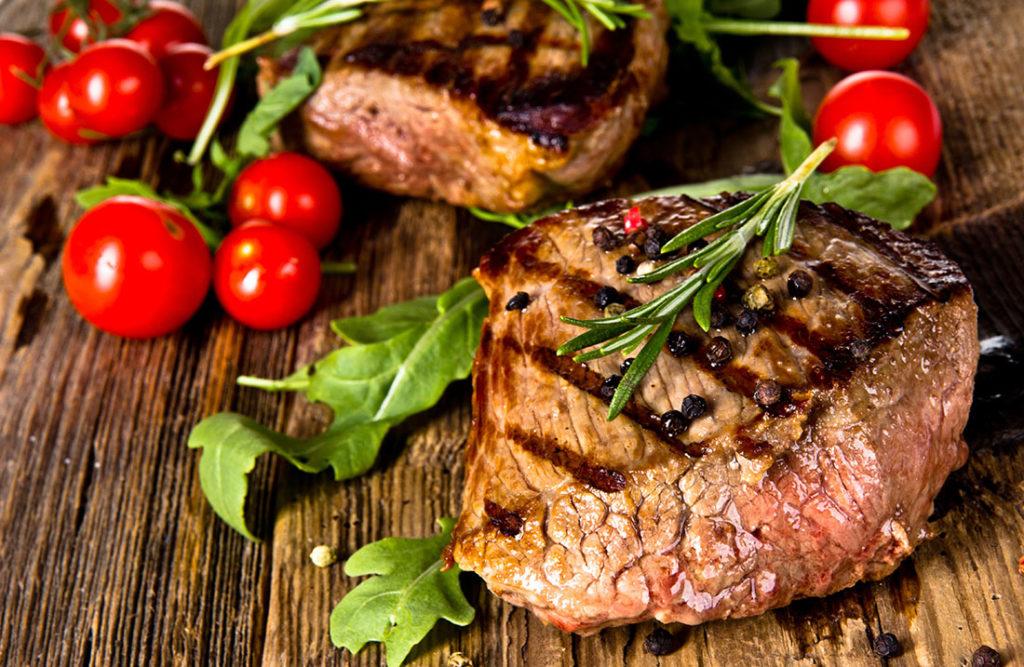 A barbecued steak Pic: Shutterstock