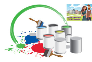 Illustration of paint pots Illustration: Shutterstock