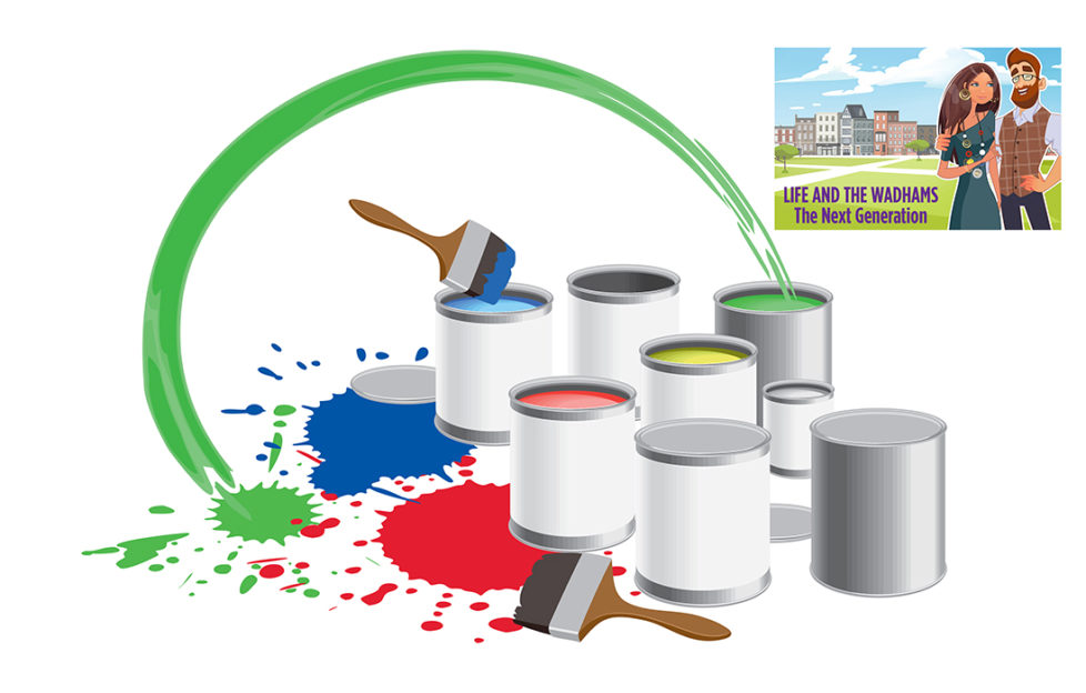 Illustration of paint pots Illustration: Shutterstock