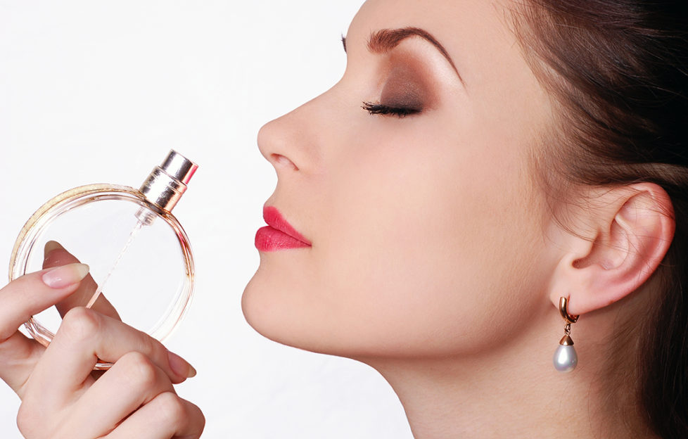 A Lady with a perfume bottle Pic: Shutterstock