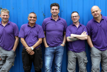 The DIY SOS team Pic: BBC Pictures