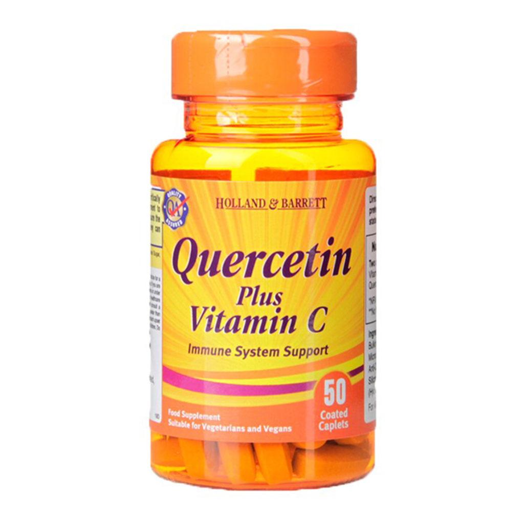 Quercetin plus Vitamin C tablets