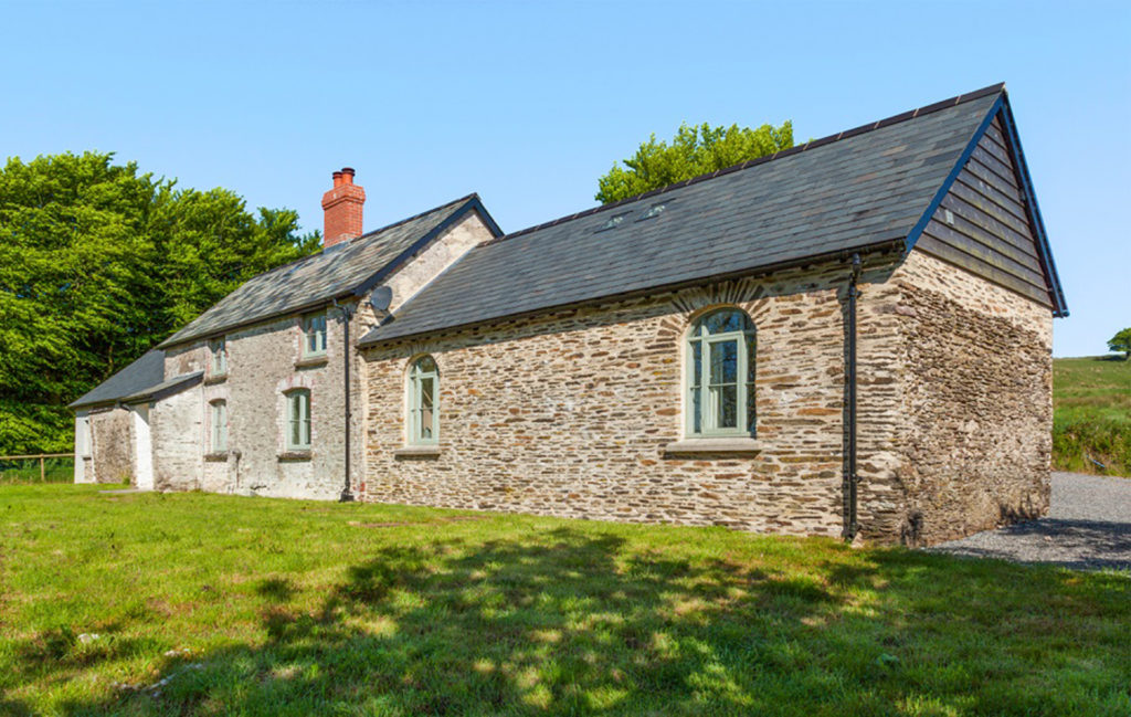 Stone built cottage with sympathetic extension in same materials