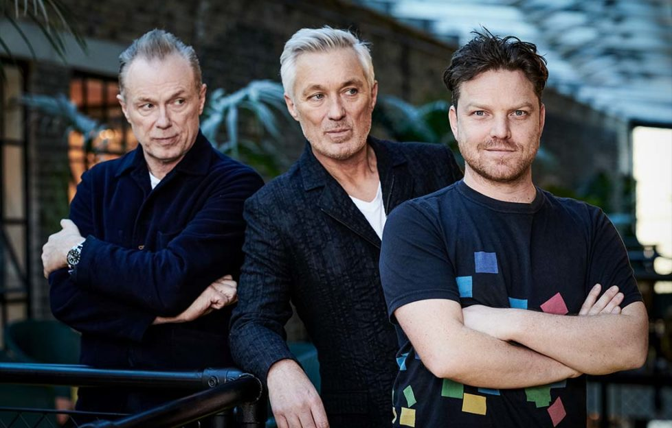 Gary and Martin Kemp with Rhys Thomas in The Kemps: All True on BBC Two