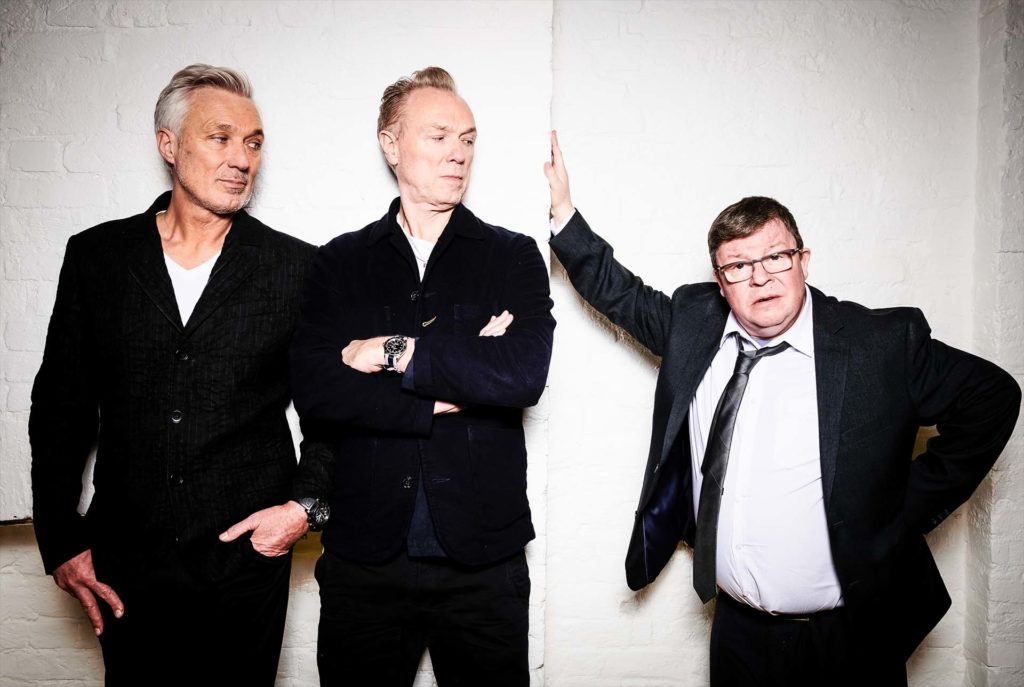 Martin and Gary Kemp with Perry Benson in The Kemps: All True on BBC Two
