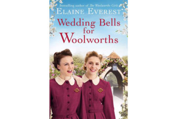 Cover of Wedding Bells For Woolworths - 2 happy young women in maroon uniforms by lychgate of a church