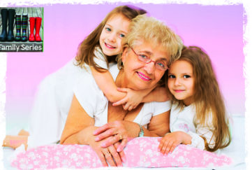 Gran and two grandaughters Pic: Shutterstock