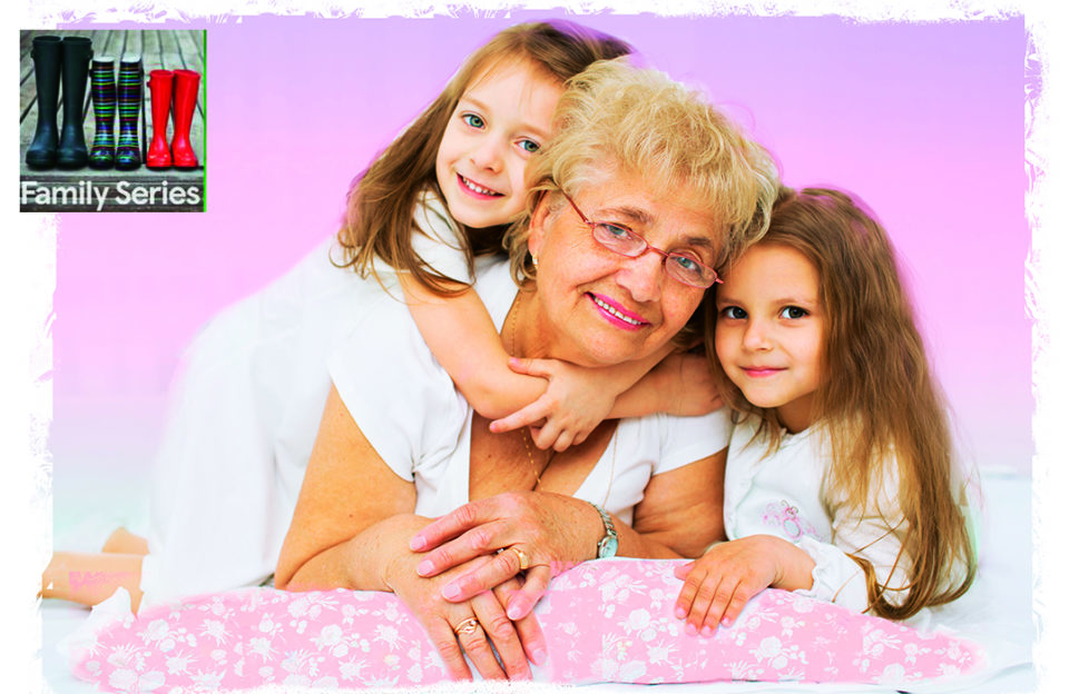Gran and two grandaughters Pic: Shutterstock