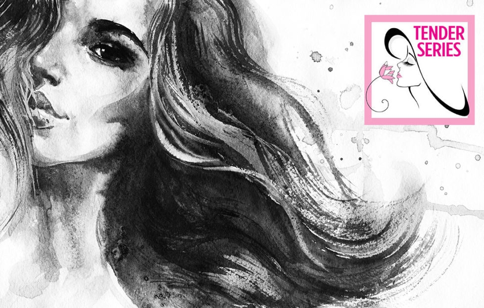 Black and white illustration of a lady Pic: Shutterstock