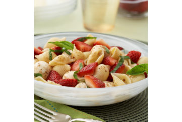 Strawberry and pasta recipe