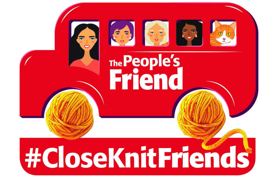 Close Knit friends logo
