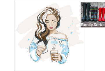 Young Lady with telephone Illustration: Shutterstock