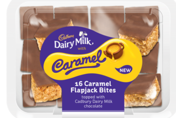 Cadbury Caramel Flapjack Bites
