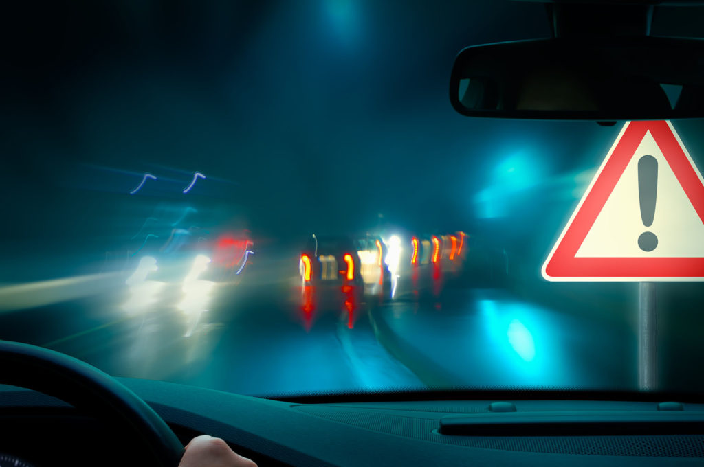 Night Driving - bad weather driving - night driving - caution;