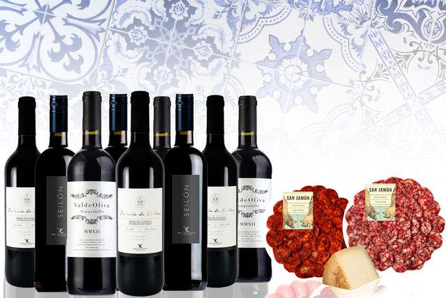 Spanish wine and food hamper