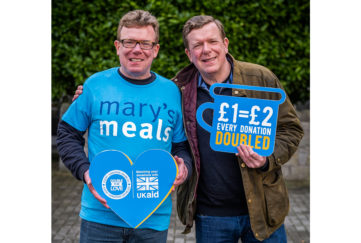 The Proclaimers are supporting Mary's Meals