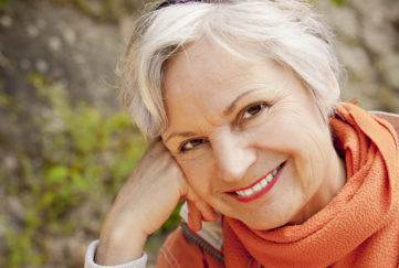 Mature lady enjoying the outdoors Pic: Shutterstock