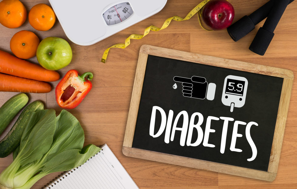 a diabetes test, health Medical Concept , Obesity , blood test for diabetes;