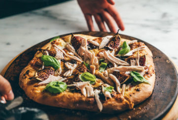 Paul Kelly's Turkey Pizza