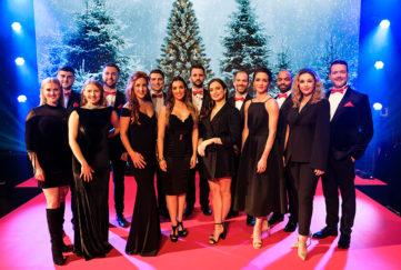 Christmas show cast