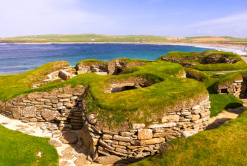 Skara Brae Neolithic settlement on the Bay of Skaill Pic: Shutterstock