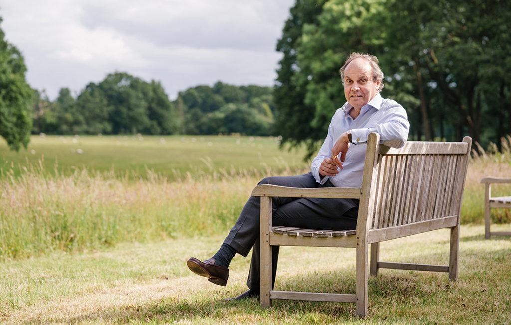 George Plumptre CEO National Garden Scheme