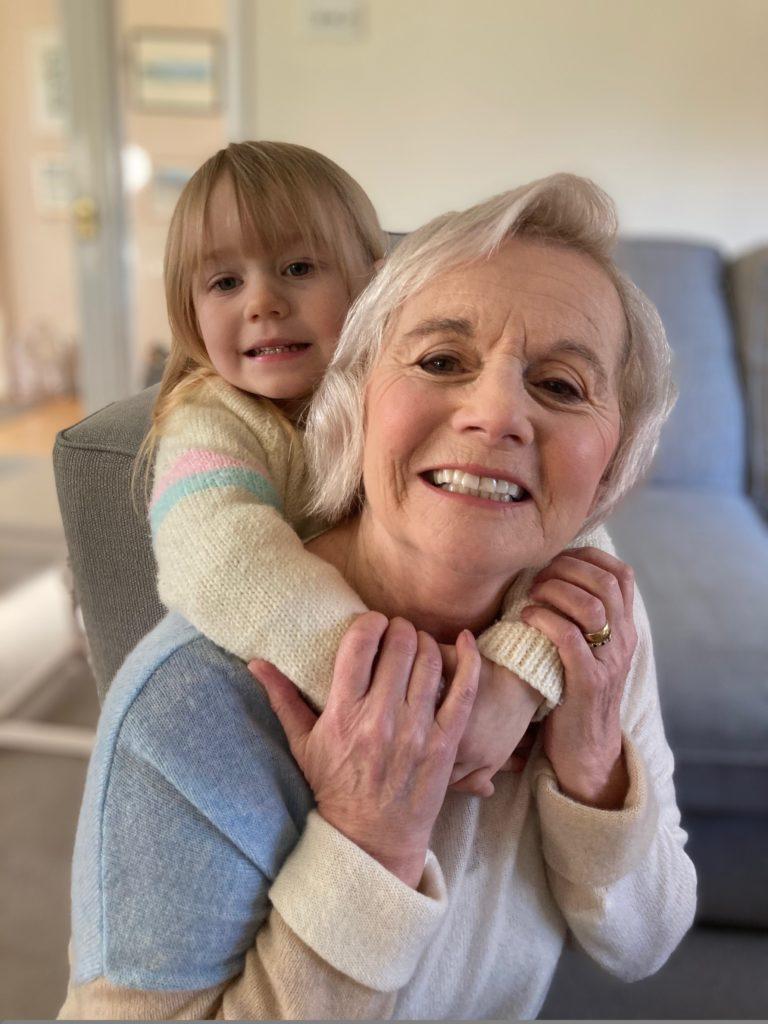 Sue Clarke and Bethany