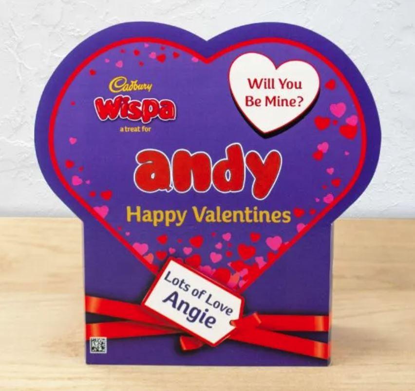 Wispa Valentine's Gift