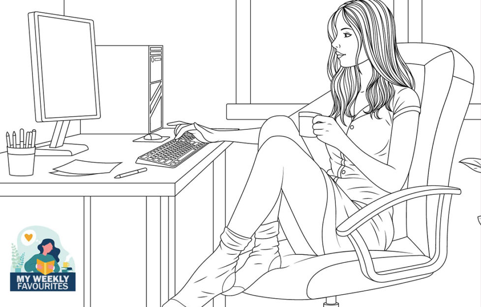 Lady at computer Illustration: Shutterstock